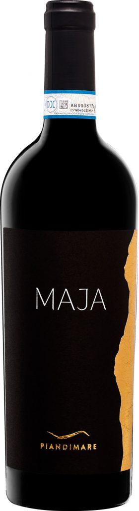 packaging e realizzazione dell'etichetta del vino maja di paindimare