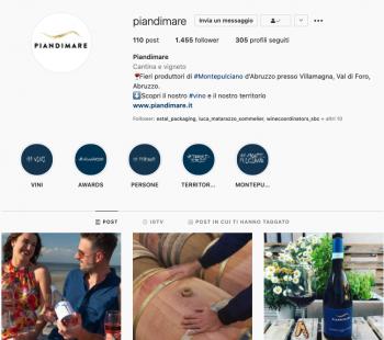 inserire hashtag nella biografia instagram