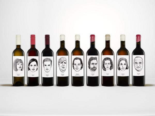 le etichette personalizzate dei vini di Gut Oggau