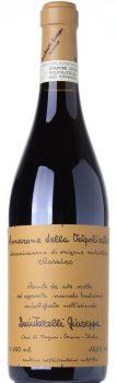 l'etichetta del vino Amarone di Giuseppe Quintarelli