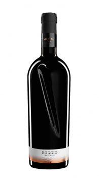la bottiglia e l'etichetta del vino Roggio del Filare